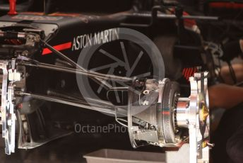 World © Octane Photographic Ltd. Formula 1 – Spanish GP. Thursday Setup. Aston Martin Red Bull Racing RB15.  Circuit de Barcelona Catalunya, Spain. Thursday 9th May 2019.