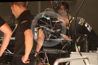 World © Octane Photographic Ltd. Formula 1 – Spanish GP. Thursday Setup. Rich Energy Haas F1 Team VF19. Circuit de Barcelona Catalunya, Spain. Thursday 9th May 2019.