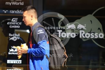 World © Octane Photographic Ltd. Formula 1 – Spanish GP. Thursday Setup. Scuderia Toro Rosso STR14 – Alexander Albon. Circuit de Barcelona Catalunya, Spain. Thursday 9th May 2019.