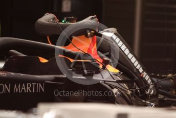 World © Octane Photographic Ltd. Formula 1 – Spanish GP. Thursday Setup. Aston Martin Red Bull Racing RB15. Circuit de Barcelona Catalunya, Spain. Thursday 9th May 2019.