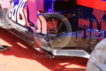 World © Octane Photographic Ltd. Formula 1 – Spanish GP. Thursday Setup. Scuderia Toro Rosso STR14. Circuit de Barcelona Catalunya, Spain. Thursday 9th May 2019.