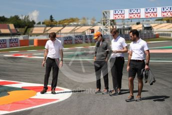World © Octane Photographic Ltd. Formula 1 – Spanish GP. Thursday Track walk. McLaren MCL34 – Lando Norris. Circuit de Barcelona Catalunya, Spain. Thursday 9th May 2019.