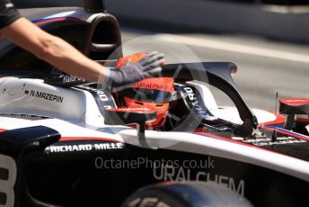 World © Octane Photographic Ltd. FIA Formula 2 (F2) – Spanish GP - Practice. ART Grand Prix - Nikita Mazepin. Circuit de Barcelona-Catalunya, Spain. Friday 10th May 2019.