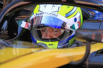 World © Octane Photographic Ltd. FIA Formula 2 (F2) – Spanish GP - Qualifying. Virtuosi Racing - Luca Ghiotto. Circuit de Barcelona-Catalunya, Spain. Friday 10th May 2019.