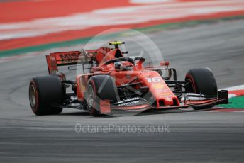 World © Octane Photographic Ltd. Formula 1 – Spanish GP. Practice 3. Scuderia Ferrari SF90 – Charles Leclerc. Circuit de Barcelona Catalunya, Spain. Saturday 11th May 2019.