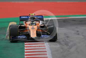 World © Octane Photographic Ltd. Formula 1 – Spanish GP. Practice 3. McLaren MCL34 – Lando Norris. Circuit de Barcelona Catalunya, Spain. Saturday 11th May 2019.