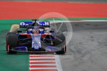 World © Octane Photographic Ltd. Formula 1 – Spanish GP. Practice 3. Scuderia Toro Rosso STR14 – Daniil Kvyat. Circuit de Barcelona Catalunya, Spain. Saturday 11th May 2019.