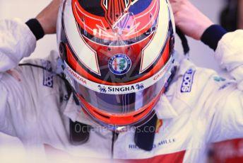 World © Octane Photographic Ltd. Formula 1 – Spanish GP. Practice 3. Alfa Romeo Racing C38 – Kimi Raikkonen. Circuit de Barcelona Catalunya, Spain. Saturday 11th May 2019.