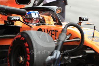 World © Octane Photographic Ltd. Formula 1 – Spanish GP. Practice 3. McLaren MCL34 – Carlos Sainz. Circuit de Barcelona Catalunya, Spain. Saturday 11thth May 2019.