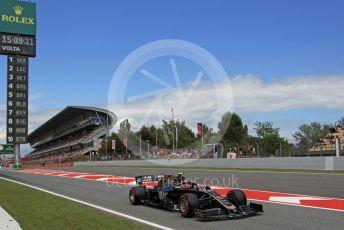 World © Octane Photographic Ltd. Formula 1 – Spanish GP. Qualifying. Rich Energy Haas F1 Team VF19 – Kevin Magnussen. Circuit de Barcelona Catalunya, Spain. Saturday 11th May 2019.