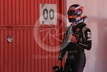 World © Octane Photographic Ltd. Formula 1 – Spanish GP. Qualifying. Rich Energy Haas F1 Team VF19 – Romain Grosjean. Circuit de Barcelona Catalunya, Spain. Saturday 11th May 2019.