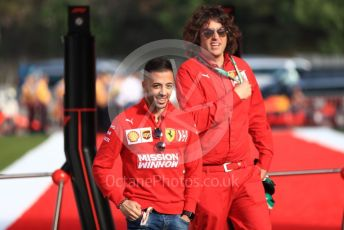 World © Octane Photographic Ltd. Formula 1 - Spanish GP. Friday Paddock. Antonio Fuoco - Ferrari Driver Academy. Circuit de Barcelona Catalunya, Spain. Friday 10th May 2019.