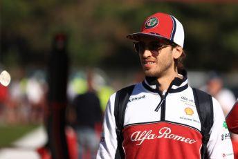 World © Octane Photographic Ltd. Formula 1 – Spanish GP. Friday Paddock. Alfa Romeo Racing C38 – Antonio Giovinazzi. Circuit de Barcelona Catalunya, Spain. Friday 10th May 2019.