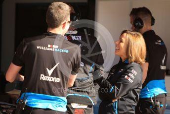 World © Octane Photographic Ltd. Formula 1 - Spanish GP. Paddock. Claire Williams - Deputy Team Principal of ROKiT Williams Racing. Circuit de Barcelona Catalunya, Spain. Saturday 11th May 2019.
