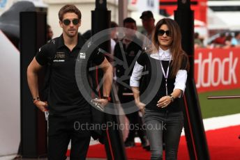World © Octane Photographic Ltd. Formula 1 – Spanish GP. Paddock. Rich Energy Haas F1 Team VF19 – Romain Grosjean. Circuit de Barcelona Catalunya, Spain. Saturday 11thth May 2019.