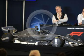 World © Octane Photographic Ltd. Formula 1 - 2021 Regulations Press Conference. Ross Brawn – Managing Director of Formula 1 for Liberty Media. Circuit of the Americas (COTA), Austin, Texas, USA. Thursday 31st October 2019.