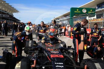 World © Octane Photographic Ltd. Formula 1 – United States GP - Grid. Aston Martin Red Bull Racing RB15 – Alexander Albon. Circuit of the Americas (COTA), Austin, Texas, USA. Sunday 3rd November 2019.