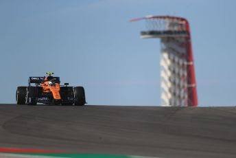 World © Octane Photographic Ltd. Formula 1 – United States GP - Practice 1. McLaren MCL34 – Lando Norris. Circuit of the Americas (COTA), Austin, Texas, USA. Friday 1st November 2019.