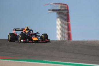 World © Octane Photographic Ltd. Formula 1 – United States GP - Practice 1. Aston Martin Red Bull Racing RB15 – Alexander Albon. Circuit of the Americas (COTA), Austin, Texas, USA. Friday 1st November 2019.