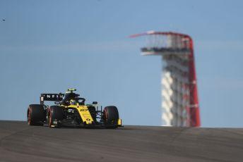 World © Octane Photographic Ltd. Formula 1 – United States GP - Practice 1. Renault Sport F1 Team RS19 – Nico Hulkenberg. Circuit of the Americas (COTA), Austin, Texas, USA. Friday 1st November 2019.