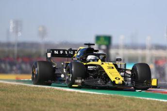 World © Octane Photographic Ltd. Formula 1 – United States GP - Practice 1. Renault Sport F1 Team RS19 – Daniel Ricciardo. Circuit of the Americas (COTA), Austin, Texas, USA. Friday 1st November 2019.