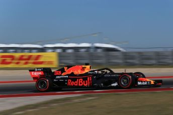 World © Octane Photographic Ltd. Formula 1 – United States GP - Practice 1. Aston Martin Red Bull Racing RB15 – Max Verstappen. Circuit of the Americas (COTA), Austin, Texas, USA. Friday 1st November 2019.