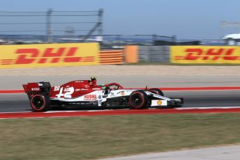 World © Octane Photographic Ltd. Formula 1 – United States GP - Practice 1. Alfa Romeo Racing C38 – Antonio Giovinazzi. Circuit of the Americas (COTA), Austin, Texas, USA. Friday 1st November 2019.