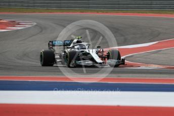 World © Octane Photographic Ltd. Formula 1 – United States GP - Practice 2. Mercedes AMG Petronas Motorsport AMG F1 W10 EQ Power+ - Valtteri Bottas. Circuit of the Americas (COTA), Austin, Texas, USA. Friday 1st November 2019.