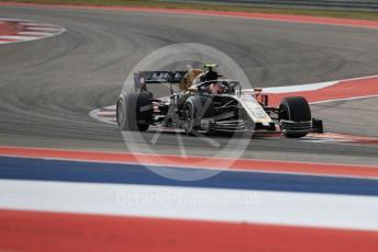 World © Octane Photographic Ltd. Formula 1 – United States GP - Practice 2. Haas F1 Team VF19 – Kevin Magnussen. Circuit of the Americas (COTA), Austin, Texas, USA. Friday 1st November 2019.