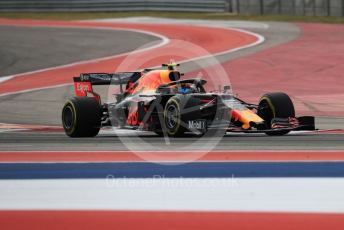 World © Octane Photographic Ltd. Formula 1 – United States GP - Practice 2. Aston Martin Red Bull Racing RB15 – Alexander Albon. Circuit of the Americas (COTA), Austin, Texas, USA. Friday 1st November 2019.