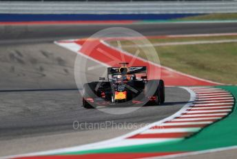 World © Octane Photographic Ltd. Formula 1 – United States GP - Quailfying. Scuderia Ferrari SF90 – Sebastian Vettel. Circuit of the Americas (COTA), Austin, Texas, USA. Saturday 2nd November 2019.