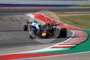 World © Octane Photographic Ltd. Formula 1 – United States GP - Quailfying. Aston Martin Red Bull Racing RB15 – Alexander Albon. Circuit of the Americas (COTA), Austin, Texas, USA. Saturday 2nd November 2019.