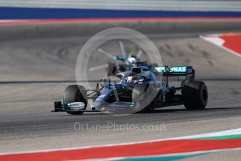 World © Octane Photographic Ltd. Formula 1 – United States GP - Quailfying. Mercedes AMG Petronas Motorsport AMG F1 W10 EQ Power+ - Lewis Hamilton. Circuit of the Americas (COTA), Austin, Texas, USA. Saturday 2nd November 2019.