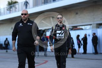 World © Octane Photographic Ltd. Formula 1 – United States GP - Qualifying. Haas F1 Team VF19 – Romain Grosjean. Circuit of the Americas (COTA), Austin, Texas, USA. Saturday 2nd November 2019.