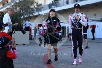 World © Octane Photographic Ltd. Formula 1 – United States GP - Qualifying. SportPesa Racing Point RP19 – Lance Stroll. Circuit of the Americas (COTA), Austin, Texas, USA. Saturday 2nd November 2019.