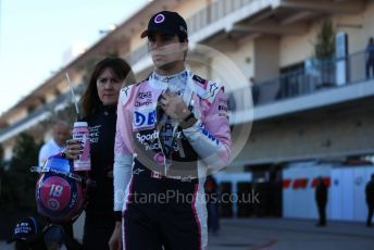 World © Octane Photographic Ltd. Formula 1 – United States GP - Qualifying. SportPesa Racing Point RP19 – Lance Stroll. Circuit of the Americas (COTA), Austin, Texas, USA. Saturday 2nd November 2019.