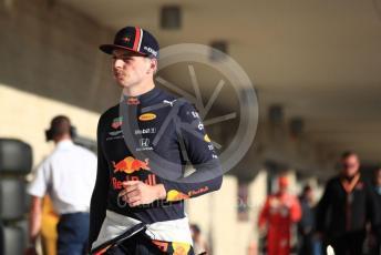 World © Octane Photographic Ltd. Formula 1 – United States GP - Qualifying. Aston Martin Red Bull Racing RB15 – Max Verstappen. Circuit of the Americas (COTA), Austin, Texas, USA. Saturday 2nd November 2019.