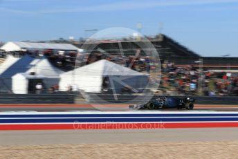World © Octane Photographic Ltd. Formula 1 – United States GP - Quailfying. Mercedes AMG Petronas Motorsport AMG F1 W10 EQ Power+ - Lewis Hamilton. Circuit of the Americas (COTA), Austin, Texas, USA. Saturday 2nd November 2019.