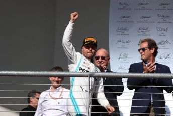 World © Octane Photographic Ltd. Formula 1 – United States GP - Podium. Mercedes AMG Petronas Motorsport AMG F1 W10 EQ Power+ - Valtteri Bottas. Circuit of the Americas (COTA), Austin, Texas, USA. Sunday 3rd November 2019.
