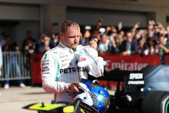 World © Octane Photographic Ltd. Formula 1 – United States GP - Parc Ferme. Mercedes AMG Petronas Motorsport AMG F1 W10 EQ Power+ - Valtteri Bottas. Circuit of the Americas (COTA), Austin, Texas, USA. Sunday 3rd November 2019.
