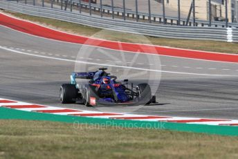 World © Octane Photographic Ltd. Formula 1 – United States GP - Race. Scuderia Toro Rosso STR14 – Daniil Kvyat. Circuit of the Americas (COTA), Austin, Texas, USA. Sunday 3rd November 2019.