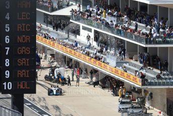 World © Octane Photographic Ltd. Formula 1 – United States GP - Race. ROKiT Williams Racing FW42 – Robert Kubica. Circuit of the Americas (COTA), Austin, Texas, USA. Sunday 3rd November 2019.