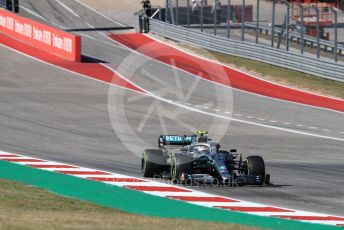World © Octane Photographic Ltd. Formula 1 – United States GP - Race. Mercedes AMG Petronas Motorsport AMG F1 W10 EQ Power+ - Valtteri Bottas. Circuit of the Americas (COTA), Austin, Texas, USA. Sunday 3rd November 2019.