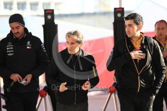 World © Octane Photographic Ltd. Formula 1 - United States GP - Paddock. Alain Prost – Non-Executive Director Renault Sport Formula 1 Team. Circuit of the Americas (COTA), Austin, Texas, USA. Friday 1st November 2019.