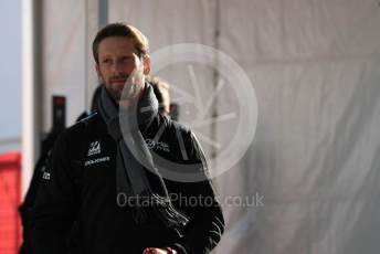 World © Octane Photographic Ltd. Formula 1 – United States GP - Paddock. Haas F1 Team VF19 – Romain Grosjean. Circuit of the Americas (COTA), Austin, Texas, USA. Saturday 2nd November 2019.