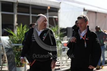World © Octane Photographic Ltd. Formula 1 - United States GP - Paddock. James Allison - Technical Director of Mercedes - AMG Petronas Motorsport. Circuit of the Americas (COTA), Austin, Texas, USA. Saturday 2nd November 2019.