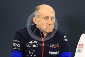 World © Octane Photographic Ltd. Formula 1 - United States GP – Friday FIA Team Press Conference. Franz Tost – Team Principal of Scuderia Toro Rosso. Circuit of the Americas (COTA), Austin, Texas, USA. Friday 1st November 2019.