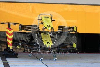 World © Octane Photographic Ltd. Formula 1 – United States GP - Pit Lane. Renault Sport F1 Team RS19. Circuit of the Americas (COTA), Austin, Texas, USA. Thursday 31st October 2019.