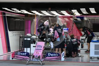 World © Octane Photographic Ltd. Formula 1 – United States GP - Pit Lane. SportPesa Racing Point RP19 - Lance Stroll. Circuit of the Americas (COTA), Austin, Texas, USA. Thursday 31st October 2019.
