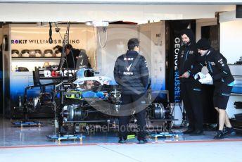 World © Octane Photographic Ltd. Formula 1 – United States GP - Pit Lane. ROKiT Williams Racing FW42. Circuit of the Americas (COTA), Austin, Texas, USA. Thursday 31st October 2019.